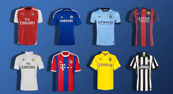 camisetas de fútbol baratas en Aliexpress