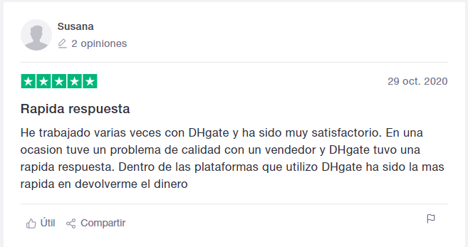 dhgate opinion trustpilot